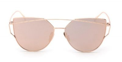 Cindy Shade Rose Gold Sunglasses