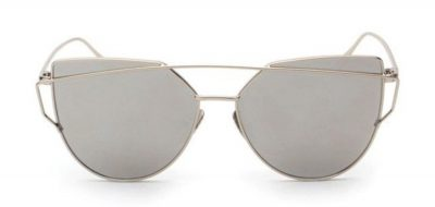 Cindy Shade Silver Sunglasses