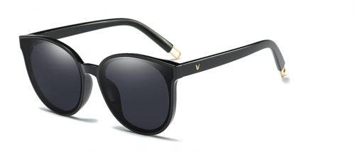 Vivian Collection Sunglasses Black - Side