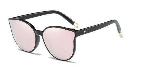 Vivian Collection Sunglasses Pink - Side